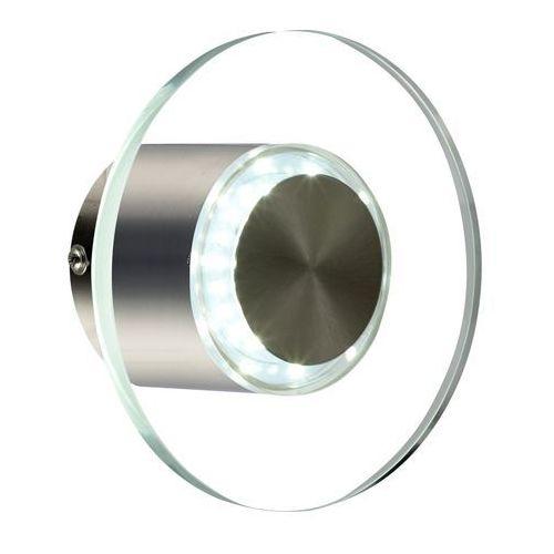 Globo Dana zewnętrzny kinkiet LED Przezroczysty, 1-punktowy - 410 Lumenów - Nowoczesny/Design - Obszar zewnętrzny - Dana - 6500 Kelwin, 32401