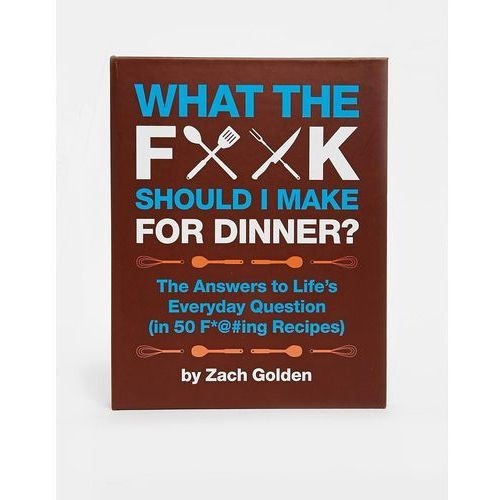 What The FK Should I Make For Dinner Book - Multi