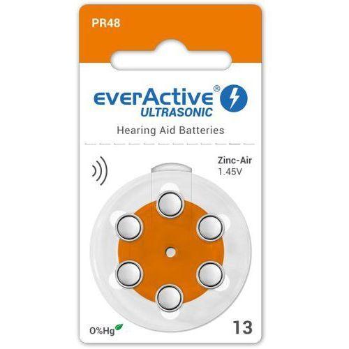 Everactive 6 x baterie do aparatów słuchowych ultrasonic 13