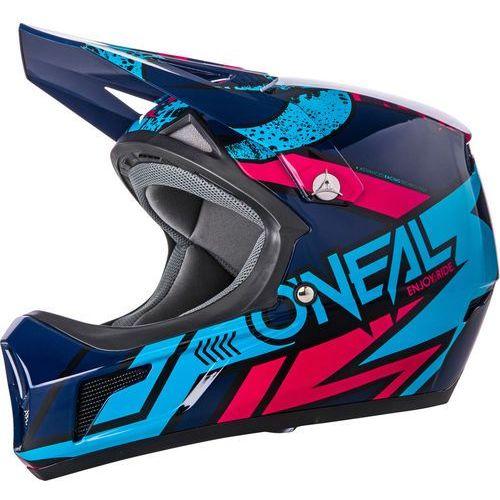 sonus strike kask rowerowy niebieski/kolorowy m | 57-58cm 2018 kaski rowerowe marki Oneal