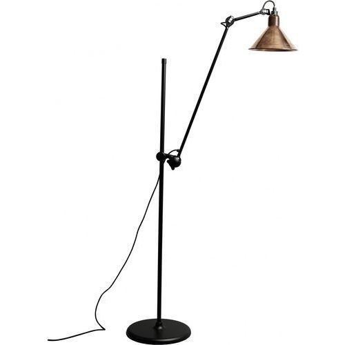 Lampe gras n°215 - lampa podłogowa - czarny/miedziany surowy/biały