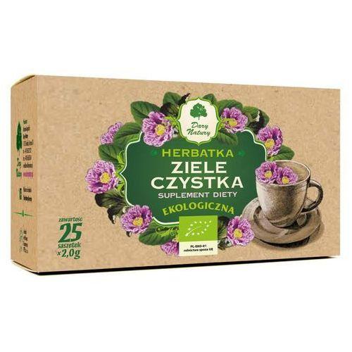 Dary natury - herbatki bio Czystek, herbata z ziela czystka 25 x 2 g dary natury
