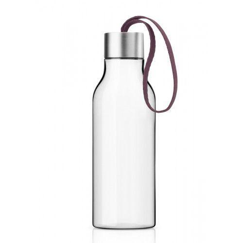 Butelka na wodę z troczkiem Dark Burgundy 0,7 l - Eva Solo