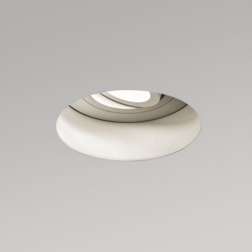 Trimless Adjustable Round 230v Fire Rated 5679 biały Astro (5038856056792)