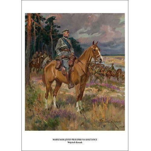 Plakat A3 - Piłsudski na kasztance - Wojciech Kossak A3-GPlak1920-025