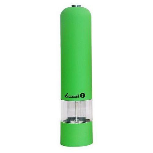 Młynek do soli, pieprzu i przypraw Łucznik PM-101 zielony (5902022180317)