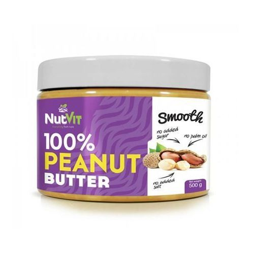 Nutvit 100% peanut butter 500g smooth marki Ostrovit