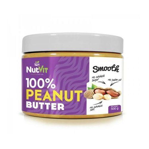 Nutvit 100% peanut butter smooth 500g marki Ostrovit