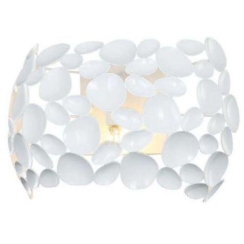 Kinkiet LAMPA ścienna CARERA PARETE BIANCO Orlicki Design metalowa OPRAWA dekoracyjna LED 7W 3000K ferrara biała, CARERA PARETE BIANCO