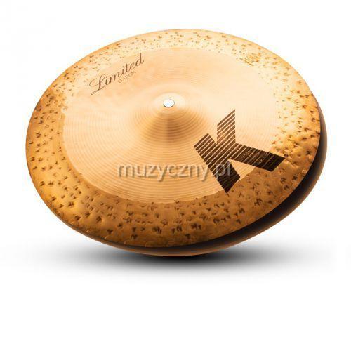 Zildjian 14″ K Custom Hybrid Reversable Hi-Hat talerz perkusyjny