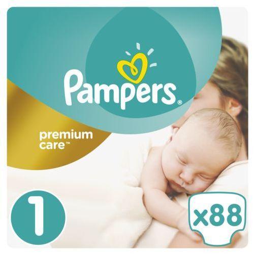 Pampers pieluchy premium care 1 newborn (88 szt.). Najniższe ceny, najlepsze promocje w sklepach, opinie.