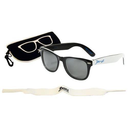 Okulary przeciwsłoneczne dzieci 4-10la junior - black/white marki Banz