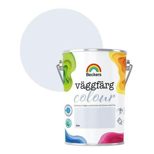 Farba lateksowa vaggfarg colour zen 5 l marki Beckers