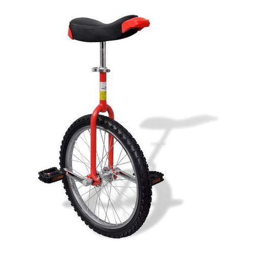 vidaXL Czerwony unicykl, 20 cali