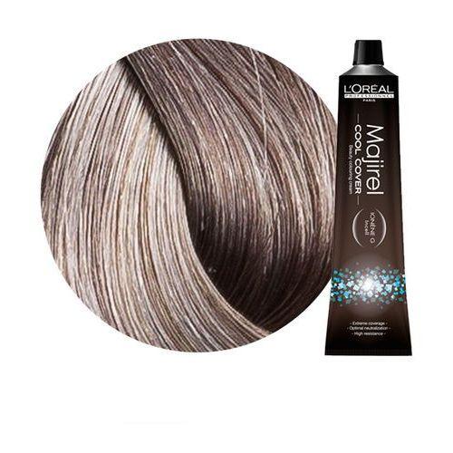Loreal Majirel Cool Cover | Trwała farba do włosów o chłodnych odcieniach - kolor 8.11 jasny blond popielaty głęboki 50ml, kolor blond