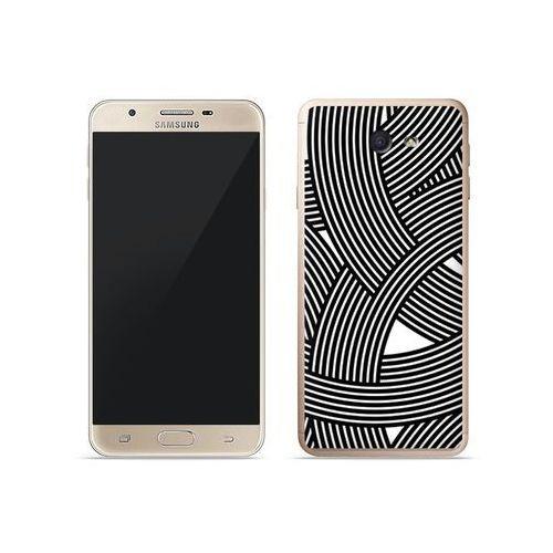 Etuo fantastic case Samsung galaxy j7 prime - etui na telefon fantastic case - biało-czarna mozaika