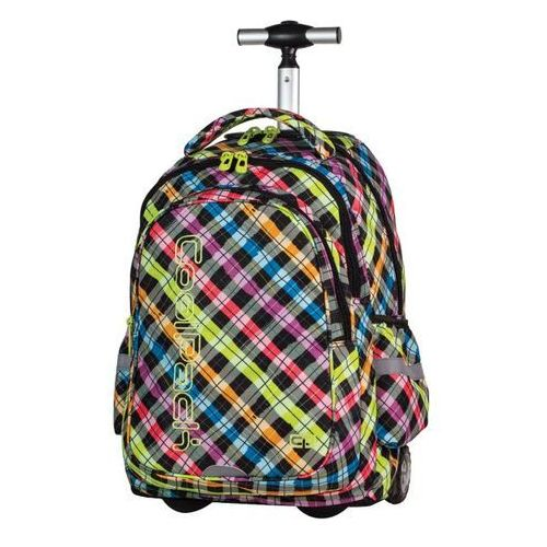 Coolpack junior plecak szkolny na kółkach 34l color check 61025cp marki Patio