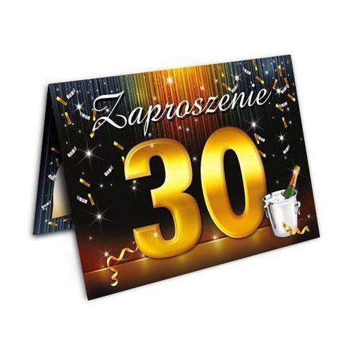Zaproszenie urodzinowe 30-tka - 1 szt.