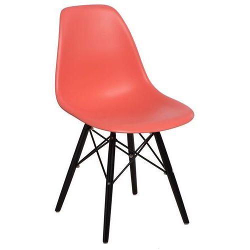 Krzesło P016W PP inspirowane DSW black - dark peach, 84897