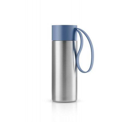 Stalowy kubek termiczny To Go Cup, Moonlight blue - Eva Solo, kolor Stalowy