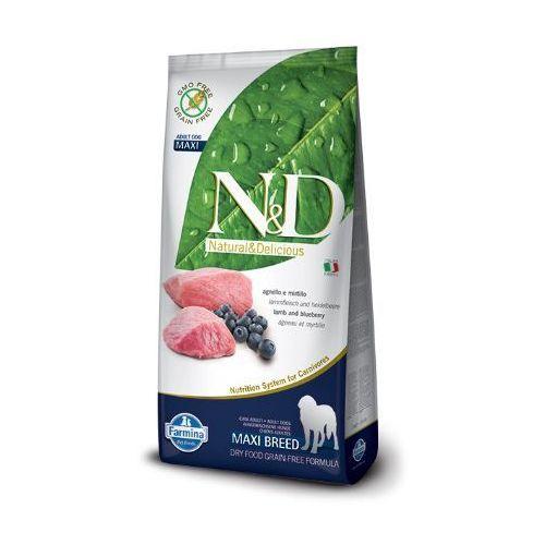 Farmina N&d grain free adult maxi lamb&blueberry -