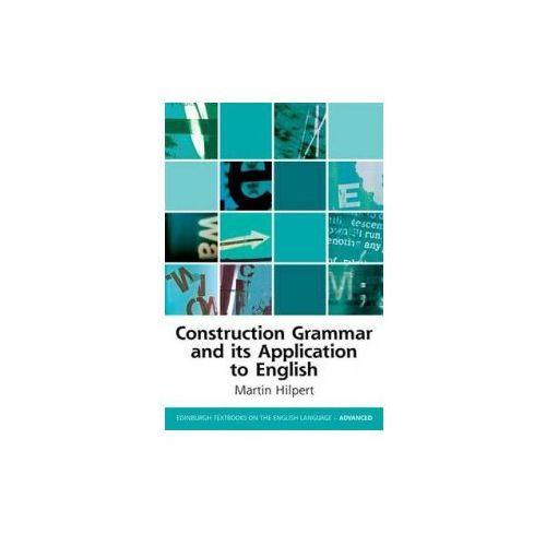 Construction Grammar And Its Application To English, Hilpert, Martin