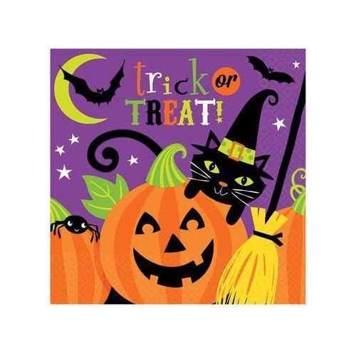 Serwetki na Halloween dla dzieci - 33 cm - 16 szt.