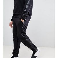 D-Struct PLUS Jogger With Satin Leg Stripe - Black