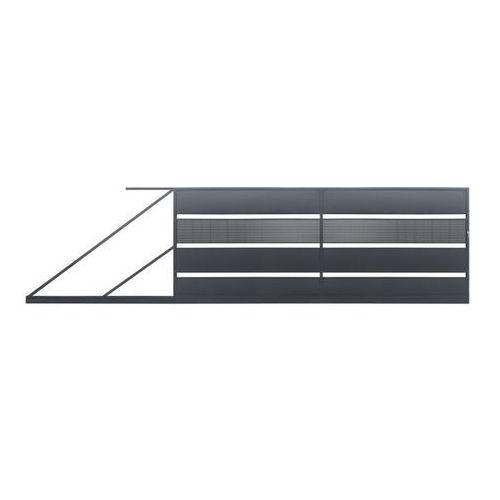Polbram steel group Brama przesuwna tebe 4 x 1 58 m ocynk antracyt lewa