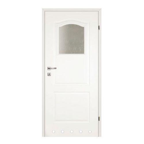 Drzwi z tulejami Classen Classic 80 prawe biały lakier
