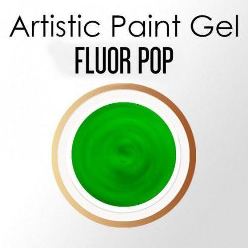 Nails company artistic paint gel pasta 5g - fluor pop (neonowa zieleń) marki Nc nails company