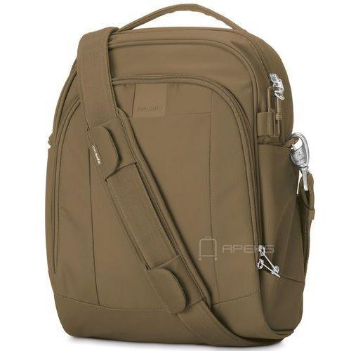 "Pacsafe Metrosafe LS250 torba na ramię / tablet 11"" - Sandstone"