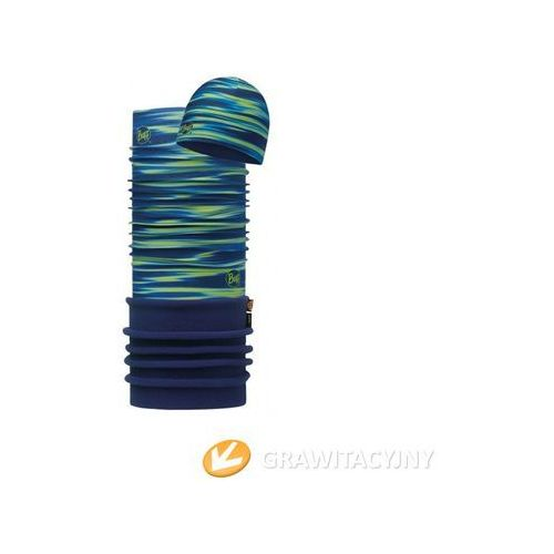 Zestaw Buff Komin Polar Buff Kenney + Czapka z Microfibry i Polaru Kenney Blue - produkt z kategorii- Nakrycia głowy i czapki