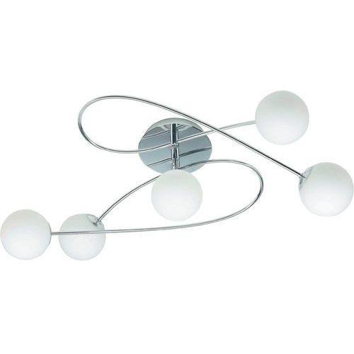 Lampa sufitowa Brilliant G93897/05, G9, (DxSxW) 66 x 36 x 18 cm, chrom, biały, Belina