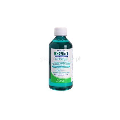 G.U.M Gingidex 0,06% płyn do płukania jamy ustnej przeciw płytce nazębnej i dla zdrowych dziąseł bez alkoholu + do każdego zamówienia upominek.