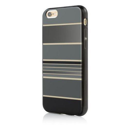 Incipio Design Series HENSLEY - Etui iPhone 6s Plus / iPhone 6 Plus (Stripes Black), IPH-1387-BLK-INTL