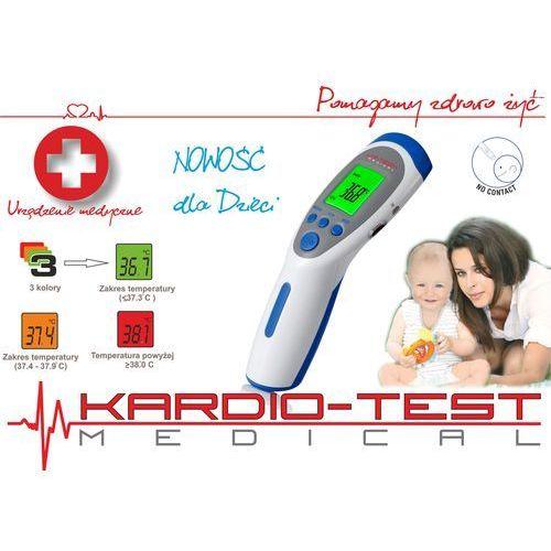 Termometr bezdotykowy wielofunkcyjny kt-70 pro marki Hi-tech medical kardio-test