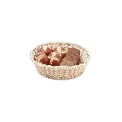 Koszyk do pieczywa beżowy okrągły śr. 40 cm