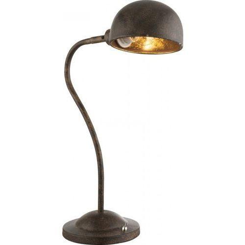 Globo XIRENA I Lampa stołowa Rudy, 1-punktowy - Przemysłowy - Obszar wewnętrzny - I - Czas dostawy: od 2-3 tygodni