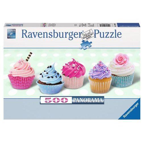 500 elementów słodkie cukierkowe babeczki marki Ravensburger