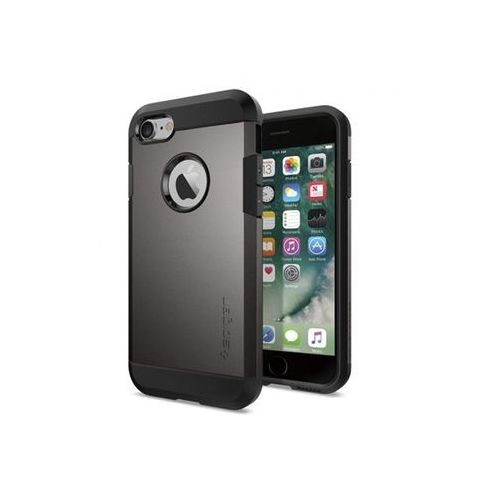 Apple iPhone 6 - etui na telefon Spigen Tough Armor - szary