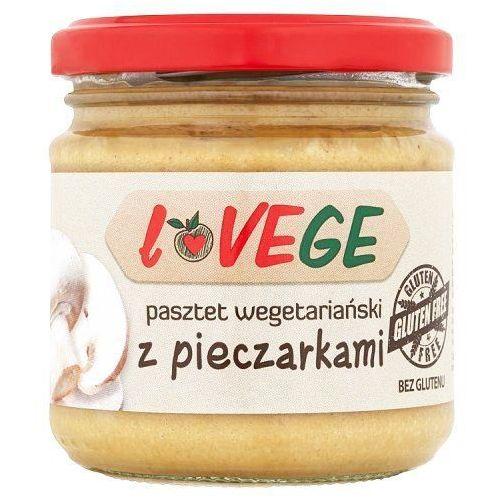 Pasztet wegetariański z pieczarkami Lovege 180g - produkt z kategorii- Przetwory warzywne i owocowe