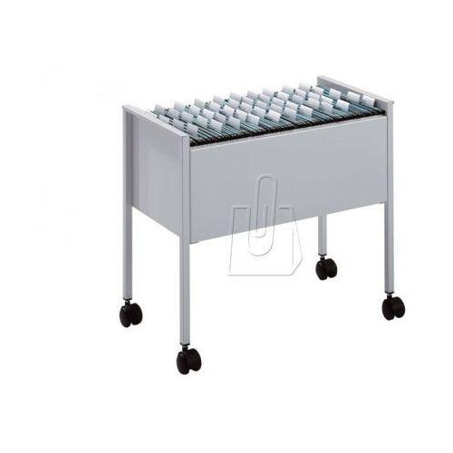 Durable Wózek na teczki zawieszane  economy 80 foolscap 3097-10 szary (8710968099719)
