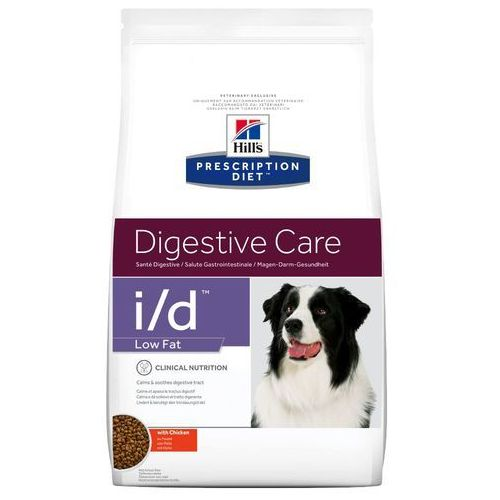 i/d low fat digestive care, kurczak - 2 x 12 kg marki Hills prescription diet