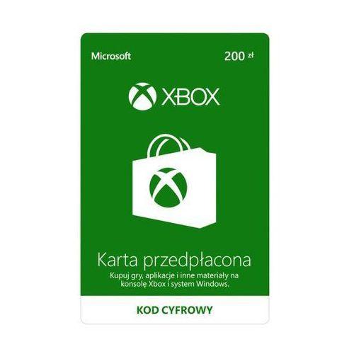 Microsoft Doładowanie xbox live 200 pln [kod aktywacyjny]