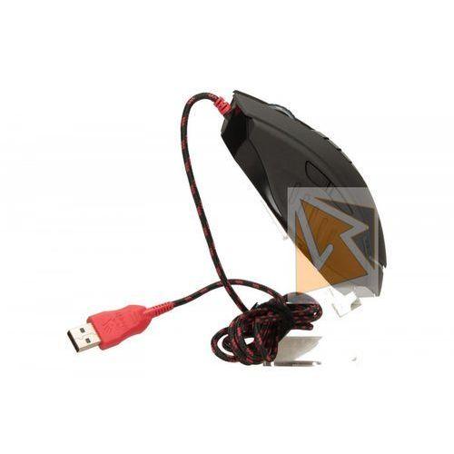 Mysz przewodowa A4 Tech optyczna Bloody V8m 3200dpi czarno - czerwony- wysyłamy do 18:30 (4711421902984)
