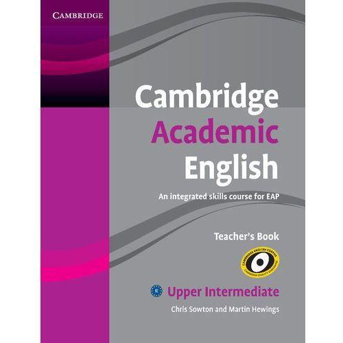 Cambridge Academic English Upper intermediate Teachers Book, oprawa miękka