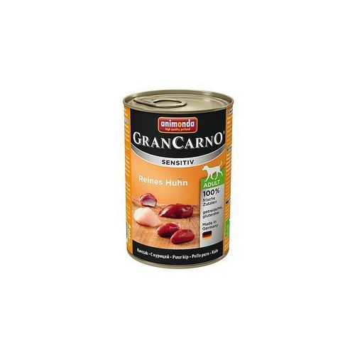 ANIMONDA Grancarno Sensitiv smak: kurczak 12x400g