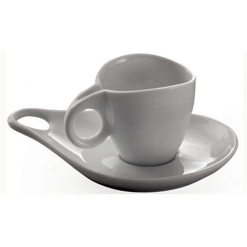 - filiżanka do kawy ze spodkiem milla - 6 szt marki Casa bugatti