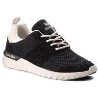Sneakersy SUPRA - Scissor 08027-039-M Black/Bone, kolor czarny